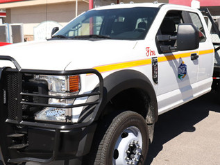 Valley Fire receives new truck from Montana DNRC