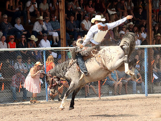 2021 Drummond Kiwanis PRCA Rodeo - Tie Down and Saddle Bronc