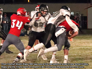 Titans tested in Arlee, advance to 6-0