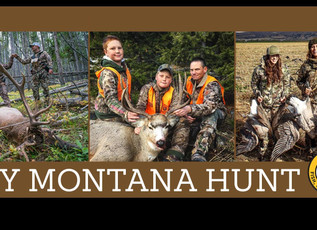 Montana's Big Game Hunting Season Opens Oct. 26