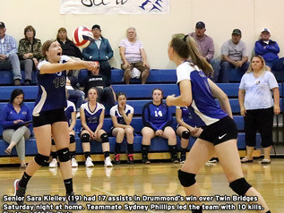 Lady Trojans ground Falcons in home finale