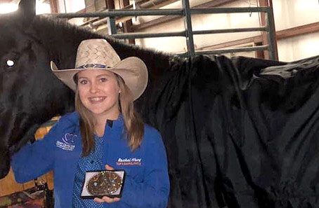 Ward claims NRA junior barrels title in finale