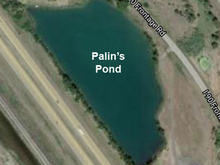 Palin's Pond closed during loading, road construction