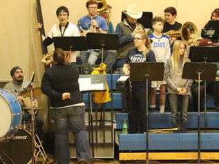 Drummond Pep Band