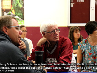 Philipsburg Schools undergo training for a myriad of emergencies