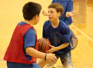 Drummond Halftime Basketball