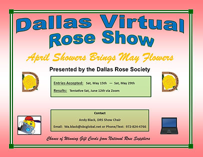 Virtual Rose Show Flyer Spring 2021(hori