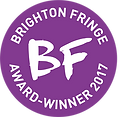 Brighton Fringe award-winner 2017 traspa