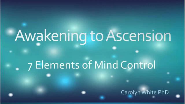 7 Elements of Mind Control