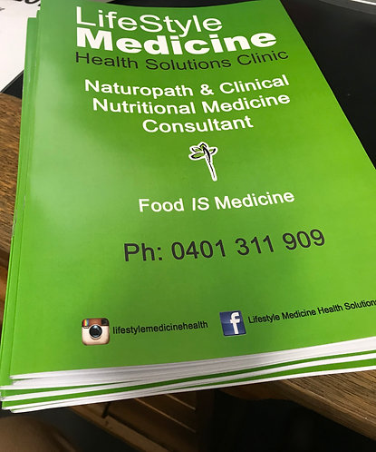 Food IS Medicine Booklet