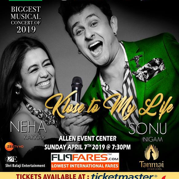 Sonu Nigam and Neha Kakkar LIVE