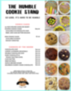 The humble cookie stand.menu.May-2020.pn
