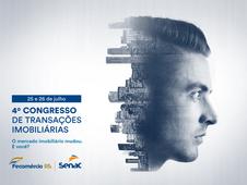 Congresso de Transações Imobiliárias tem o apoio do Sindimóveis-RS. Inscreva-se aqui.
