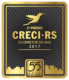 Participe da segunda edição do 2º Prêmio CRECI-RS - O Corretor do Ano!