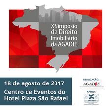 O Sindimóveis-RS apoia a realização do Simpósio de Direito Imobiliário da AGADIE