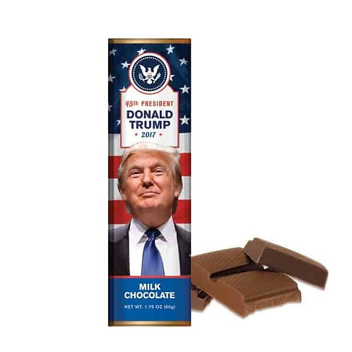 President Trump – Milk Chocolate Bar – 1.75oz – Case Pack