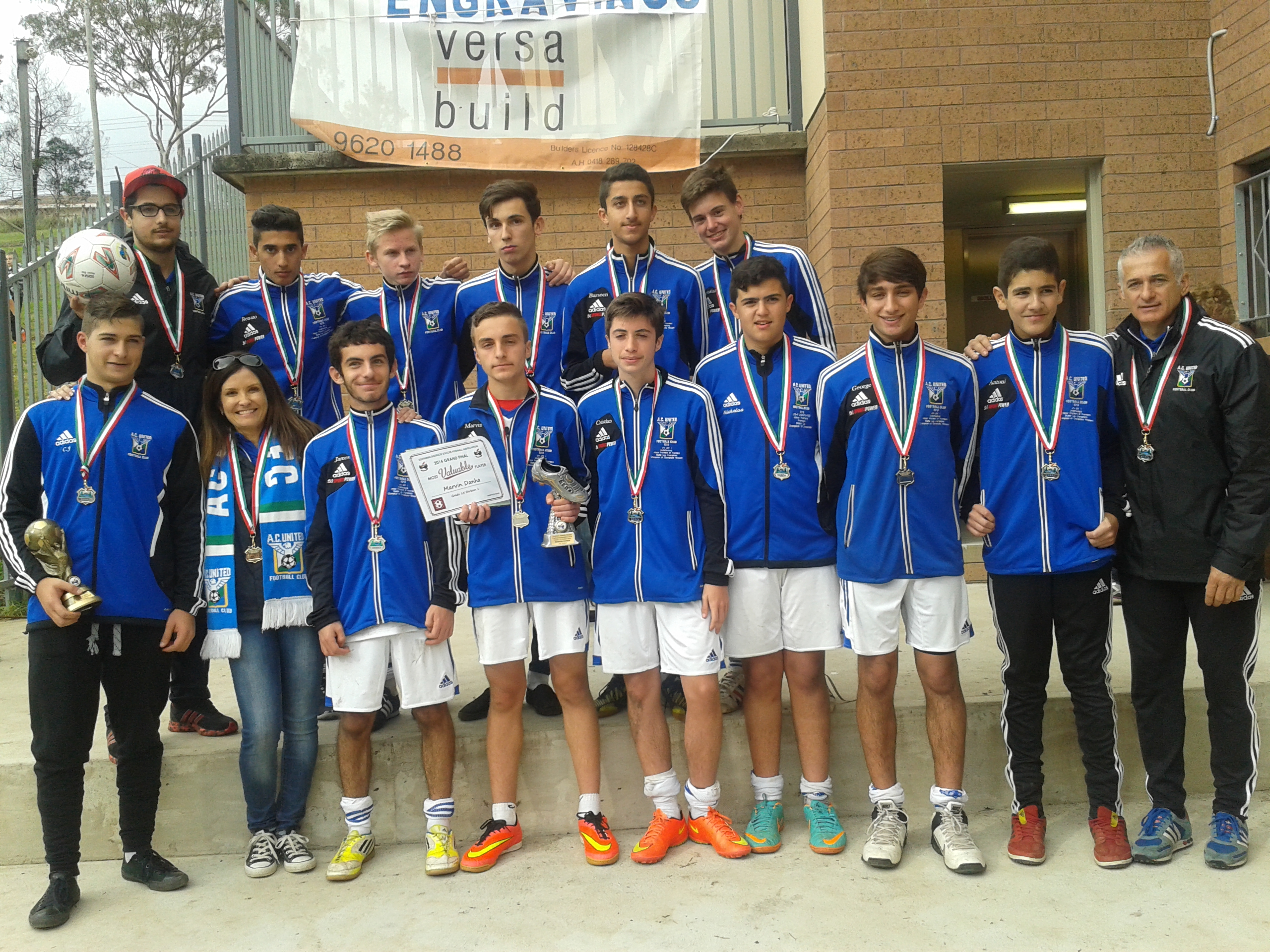 U16 Div 1 Runners Up