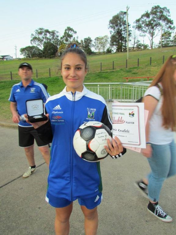 U14 Div 1 Girls GF Most Valuable Player