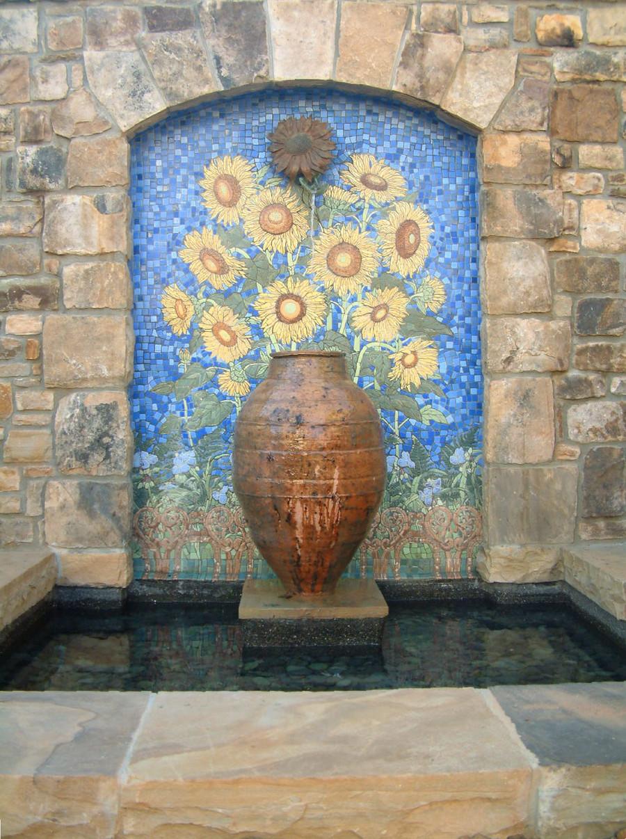 Sunflower Fountain