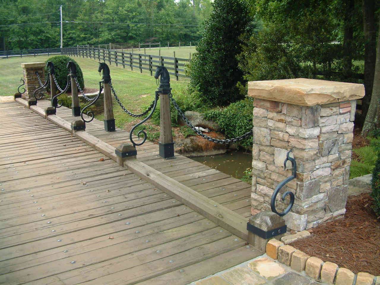 Horse Themed Bridge