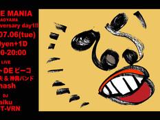 2021.07.06 |【観覧】SENSE MANIA in AOYAMA 1st anniversary day1!!
