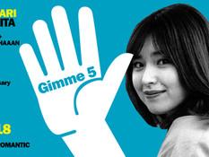 2021.09.18 |【観覧+配信】MONARI WAKITA 5th Anniversary Live - Gimme 5-