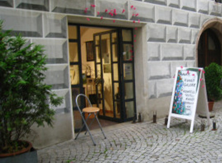 My new Gallery in Hall in Tirol
