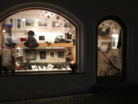 Christmas marked in Hall in Tirol