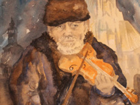 Beautiful violin sound