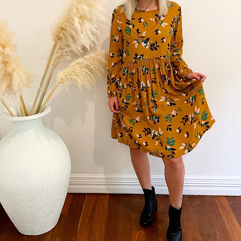 Freesia Floral Dress
