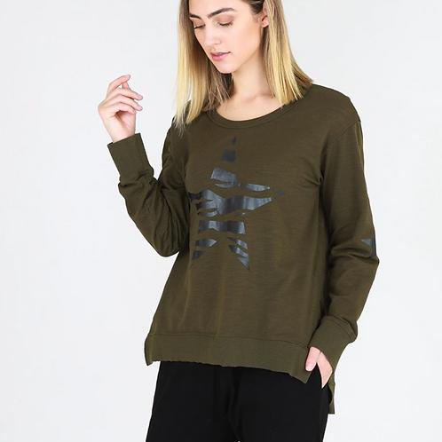Zebra Star Sweater