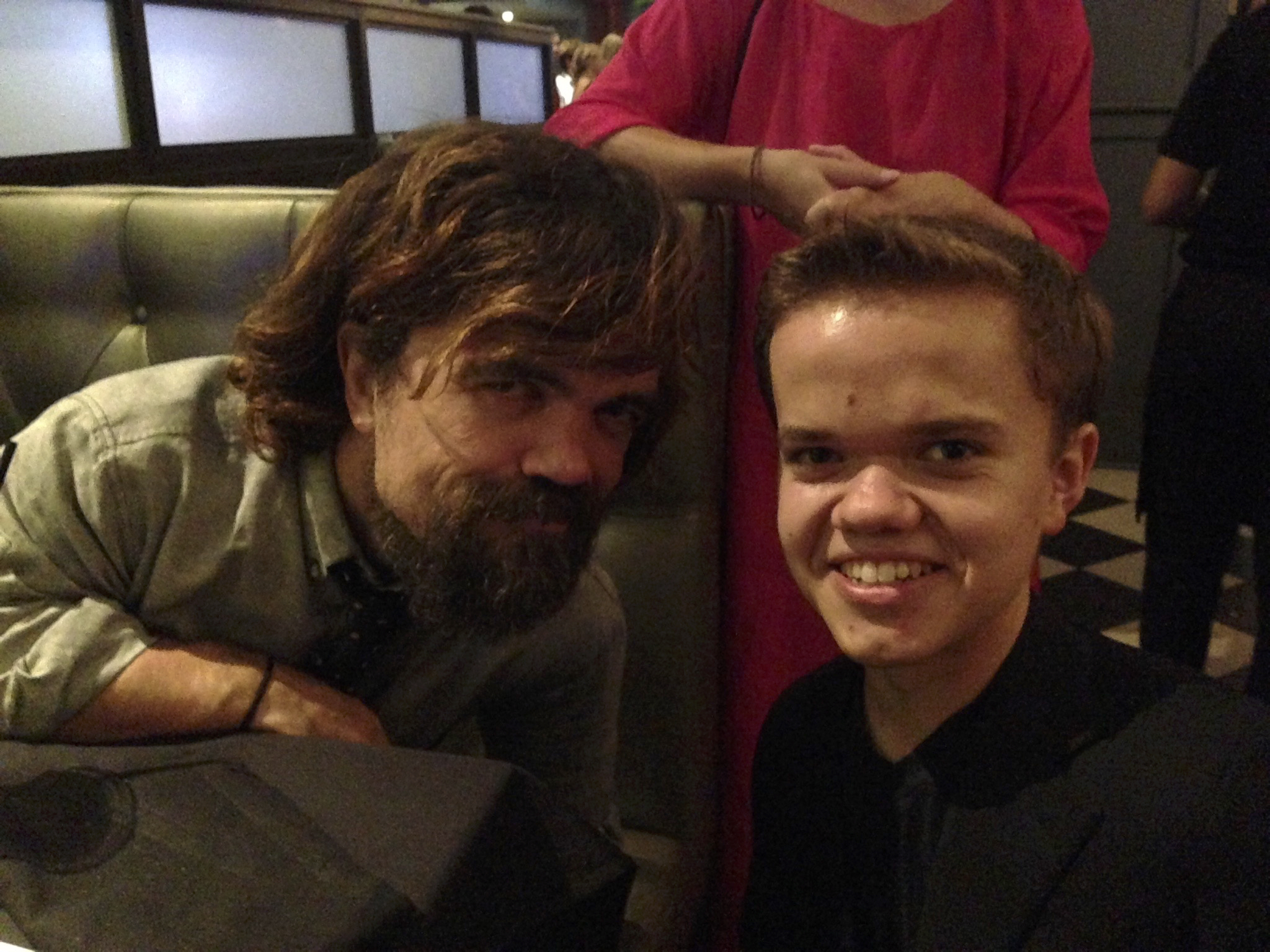 Peter Dinklage at the premiere
