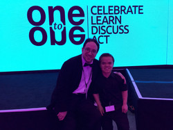 Performing with David Segal at the One t