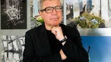 Daniel Libeskind al convegno CNETO - Politecnico di Milano