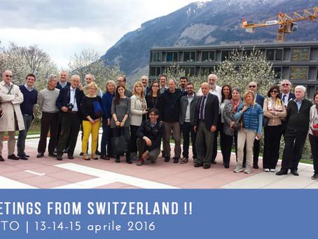 Greetings from Switzerland!