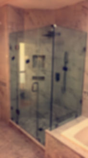 Framless Shower Doors in Potomac and Rockville MD, Maryland.