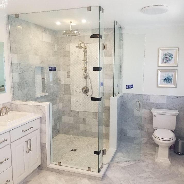 shower door, Frameless showers, Maryland showers, glass doors, endurosheild, custom showers, rockville showers