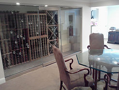 Glass Wine Cellar Glass Doors