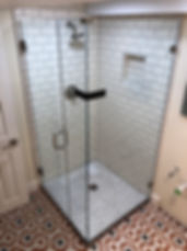 shower door company, frameless showers, Euroglass, custom glass, columbia maryland glass, howard county glass, Baltimore glass, Maryland glass, bathroom remodel