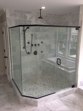 Columbia MD shower door company, Baltimore shower doors, catonsville shower doors, Clarksville shower doors, Rain glass shower, frameless shower, Rockville shower door, Maryland glass, Perfect shower doors