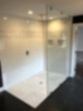 Herculight door, Frammeless shower, 1/2 inch glass, Maryland, DC, Virginia, Showers