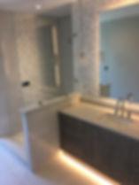 Shower Single panel, Splash Guard shower Panel, Starphire shower glass, Clear glass Showers
