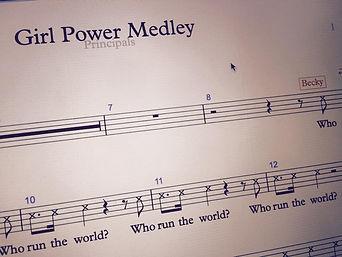 Girl Power Medley