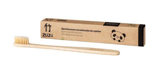 Bambusowa szczoteczka do zębów dla dorosłych Zuzii