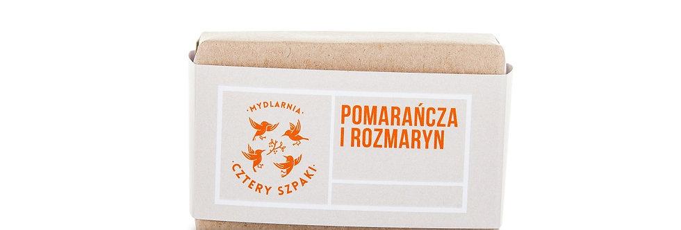 Mydło Pomarańcza i rozmaryn 4szpaki