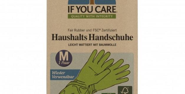 Wielorazowe rękawiczki lateksowe, Fair Rubber, rozmiar M i L, If You Care