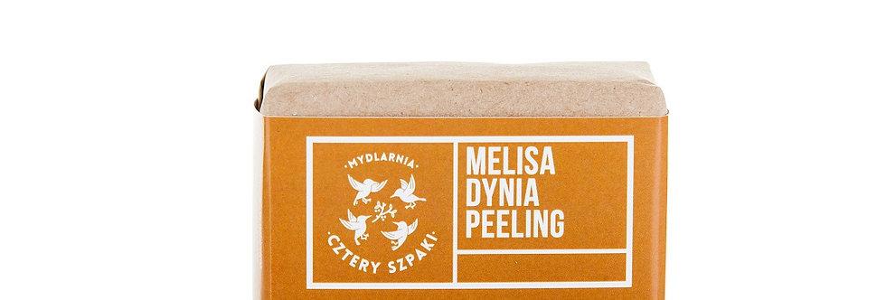 Mydło peelingujące 4szpaki Melisa dynia