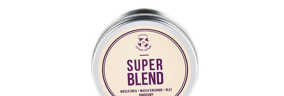 Masło Super blend: shea + kakao + kokos 4 Szpaki