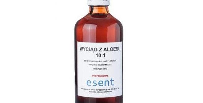 Żel, wyciąg z aloesu 100%, ESENT 100 ml