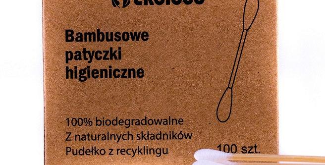 Bambusowe patyczki higieniczne 100 szt.